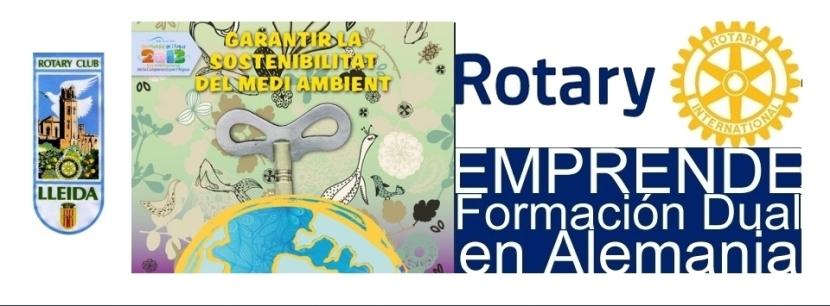 El Rotary Club de Lleida participa al SOLIDARIUM 2013, on presentarà ROTARY EMPRÈN: Formació Dual aAlemanya…