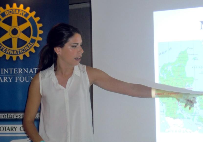 Experiència a Camp Rotary a Dinamarca, de Laura Ruiz, guanyadora del V Premi Protagonistes, del Club Rotari deLleida.