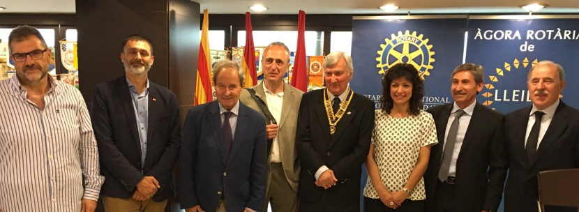 L'impacte del tractat TTIP al nostre sector alimentari, situació i problemàtica del sector a Lleida. ÀgoraRotària