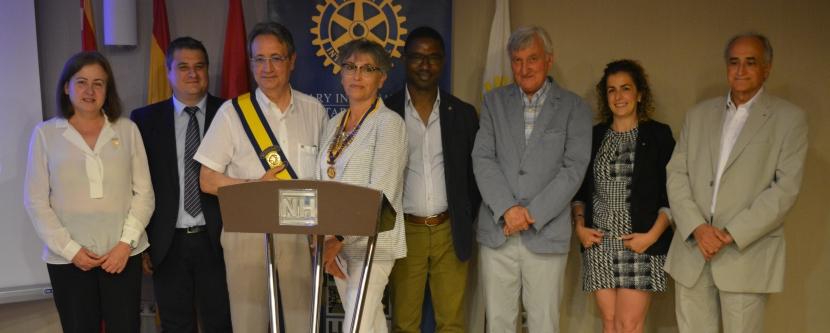 Canvi de Presidència 2016-2017 i Programa de Joventut al Rotary Club deLleida