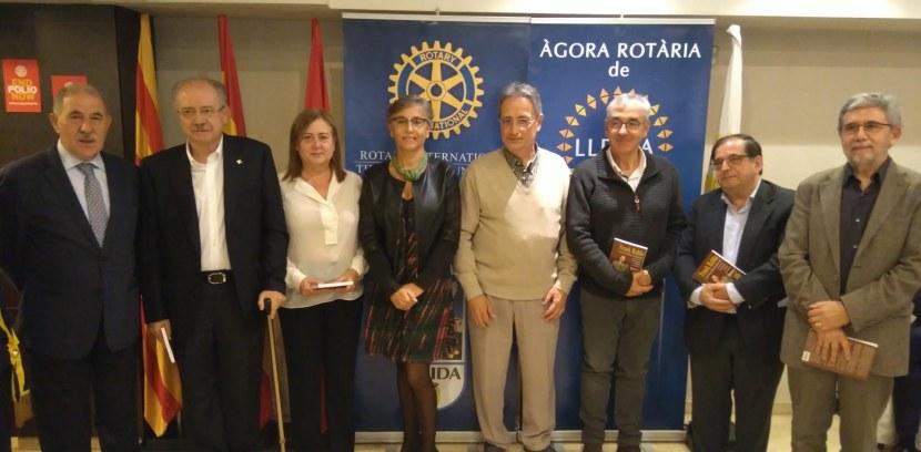 """SOPAR-DEBAT: """"Àgora Rotària de Lleida"""", amb motiu del Centenari de La Farmàcia de l'Hospital de Santa Maria…"""