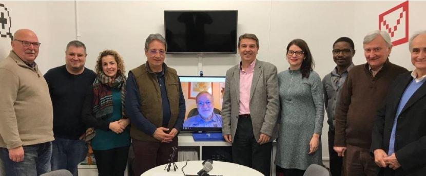 Ens visita el Sr. Josep Maria Bosch, responsable de Promoció de IRBLleida (Institut de Recerca Biomèdica deLleida)