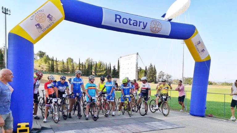 Un membre del Rotary Club de Lleida participa en XXXIII World Championship Cycling to Serve 2017 a Montegranaro (Itàlia)