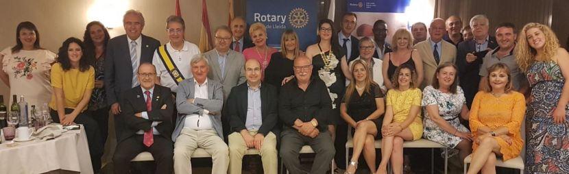 Canvi de presidència del Rotary Club de Lleida i presentació de la junta2018-19