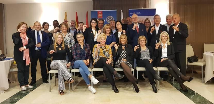 Sopar Solidari i Conferència de la Dra. Toñy Castillo amb motiu de  la commemoració del Dia Mundial de laPolio
